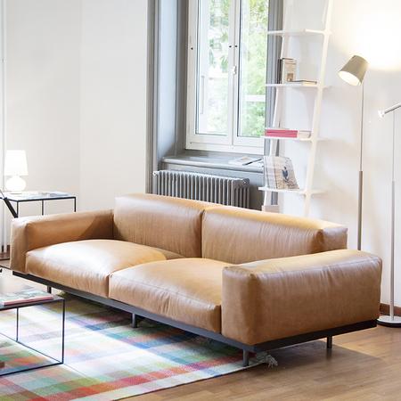 Sofa Naviglio Leder Arflex