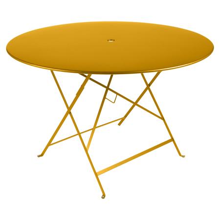 Fermob Tisch Bistro Rund Honig 73 ø 117 cm