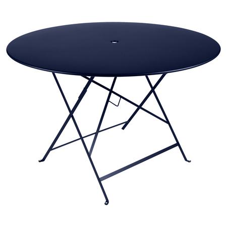 Fermob Tisch Bistro Rund Abyssblau 92 NEU ø 117 cm