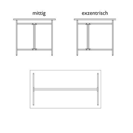 Tischgestell Egon Eiermann 2