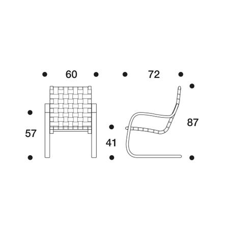 Sessel 406 Artek