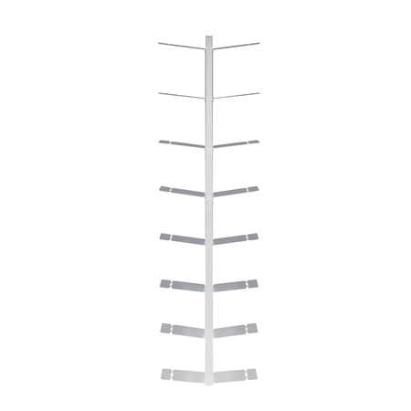 Regal Booksbaum I Wand Radius Design