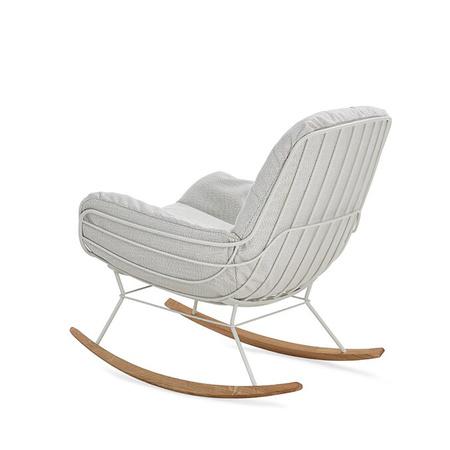 Outdoor Lounge Schaukelstuhl Leyasol