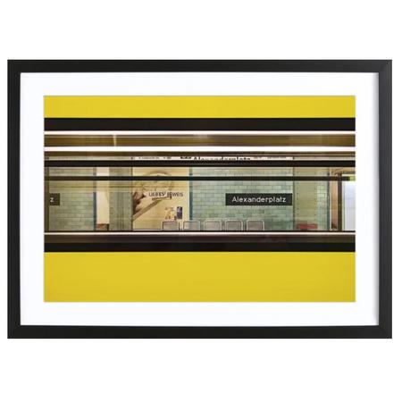 Liebesbeweis -Bild mit Holzrahmen / 50 X 70