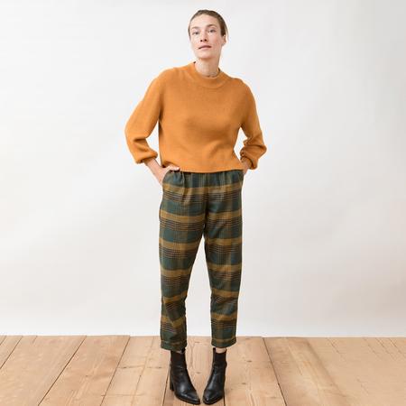 Curryfarbener Strick-Sweater von 'Jungle Folk'