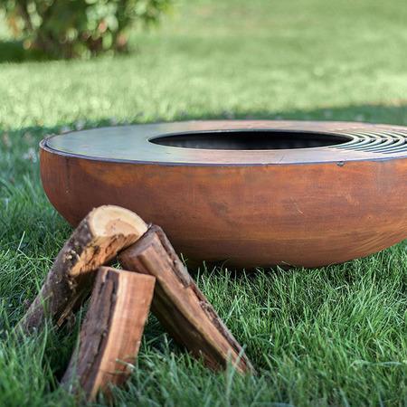 Tiefe Feuerstelle 'Eldur Garden Fire Basic'