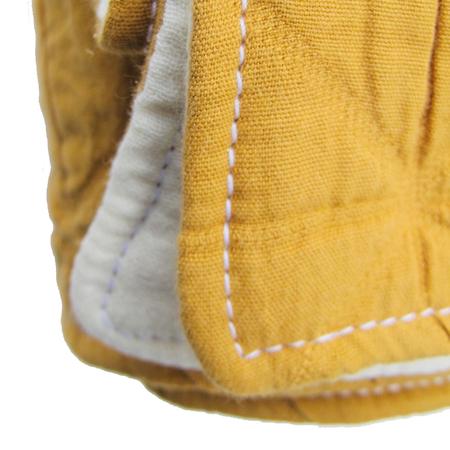 Petit Mai Decke Gold Bio Baumwolle