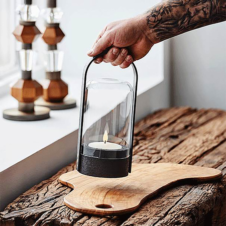 Portable Leuchte Candlelight