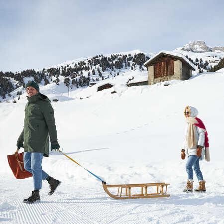 Original Davoser Schlitten