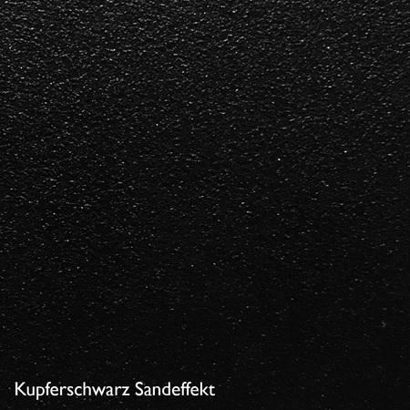Zeus Farbkachel Kupferschwarz Sandeffekt
