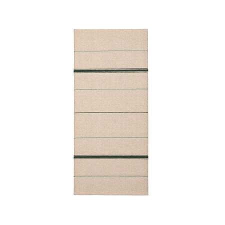 Brita Sweden Vinyl Teppich 'Trapeze'  80 x 150 cm ,  Emerald