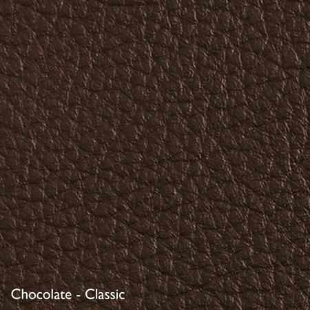 Classicon Sessel 'Euvira' mit Polsterung  Eiche natur,  Filzgleiter,  Chocolate - Classic