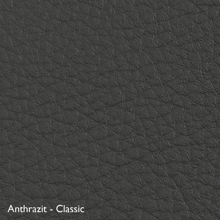 Classicon Sessel 'Euvira' mit Polsterung  Eiche natur,  Filzgleiter,  Anthrazit - Classic