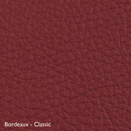 Classicon Sessel 'Euvira' mit Polsterung  Eiche natur,  Filzgleiter,  Bordeaux - Classic