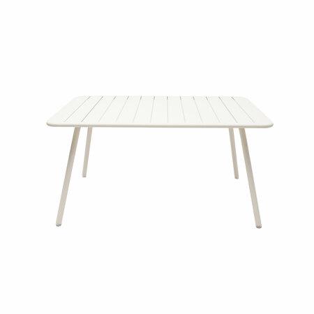 Fermob Luxembourg Tisch  Perlweiss - RAL 1013,  207 x 100 cm