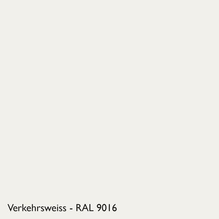 Farbkachel Manufakt Verkehrsweiss - RAL 9016