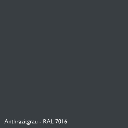 Farbkachel Manufakt Anthrazitgrau - RAL 7016