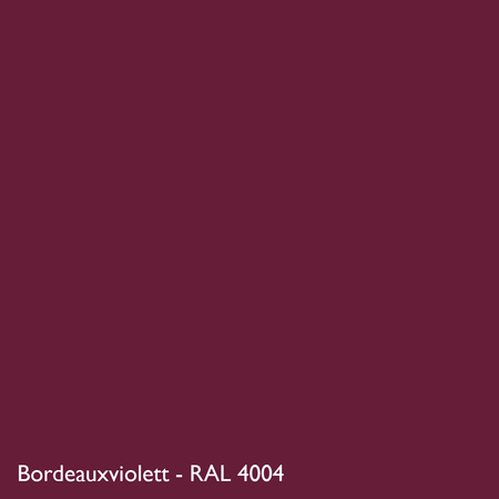 Farbkachel Manufakt Bordeauxviolett - RAL 4004