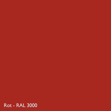 Farbkachel Manufakt Rot - RAL 3000