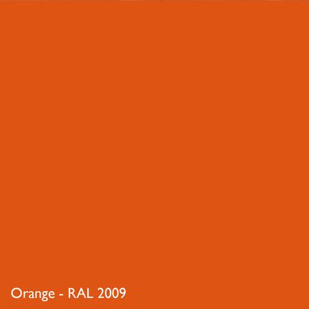 Farbkachel Manufakt,Orange - RAL 2009