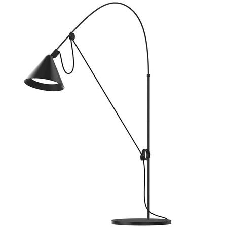 Midgard 'AYNO' Leuchte S / 74 cm, Schwarz