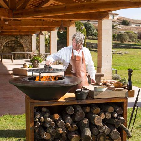 Ofyr Grill-Outdoorkücheninsel 'Cooking Unit Island'
