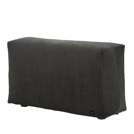 Vetsak Sofa Side Cord Velour - Dunkelgrau
