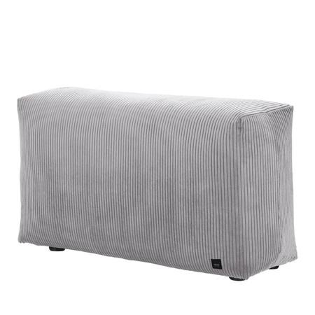 Vetsak Sofa Side Cord Velour - Hellgrau