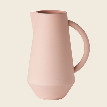 Schneid Karaffe Keramik, Koralle