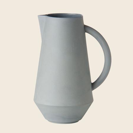 Schneid Karaffe Keramik, Blaugrau