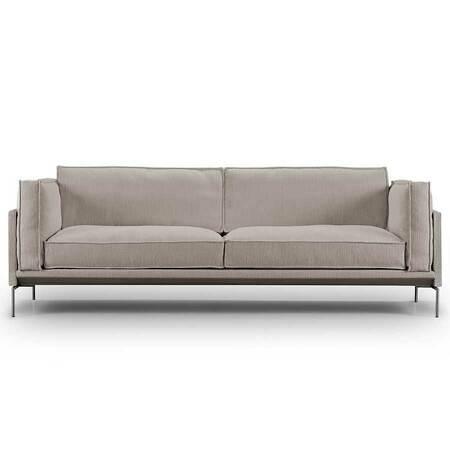 Eilersen Neu: Sofa 'Slimline' Greige - Gravel 07, L: 180 cm