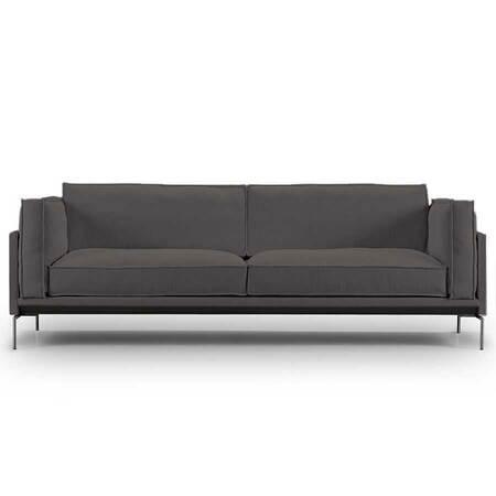 Eilersen Neu: Sofa 'Slimline' Anthrazit - Gravel 36, L: 180 cm