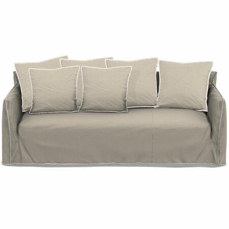 Gervasoni Sofa 'Ghost' B: 260 cm / T: 100 cm , Gesso - Furby