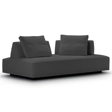Eilersen Sofa 'Playground' Grau 06 - Mumbai, B: 200 cm / T: 130 cm