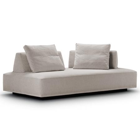 Eilersen Sofa 'Playground' Schwarz-offwhite 127 (Wirkung Beige) - Termoli, B: 200 cm / T: 130 cm