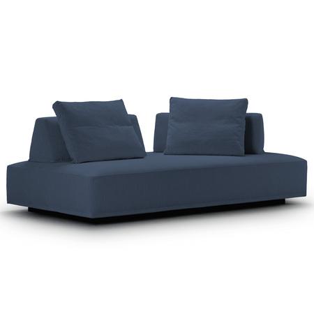 Eilersen Sofa 'Playground' Denimgrau 16 - Herring, B: 200 cm / T: 130 cm