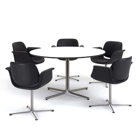 Erik Jørgensen 'EJ205 Flamingo Chair' Bürostuhl 10