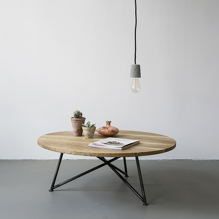 Tisch Sofa Table Nuts and Woods