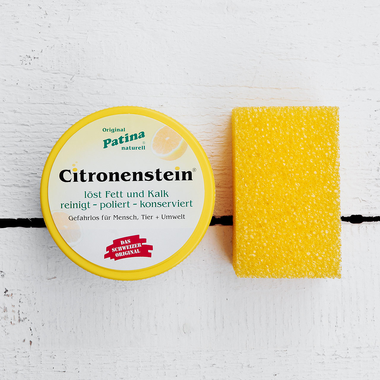 Kult-Reinigungsmittel Citronenstein