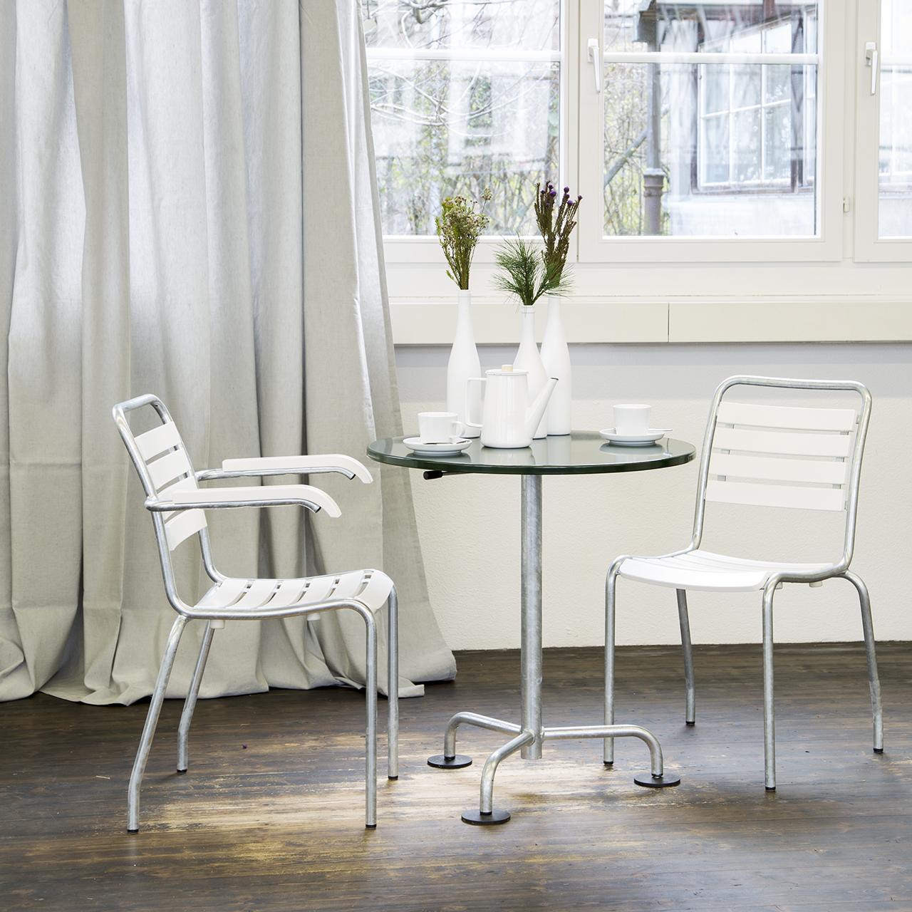 Gartentisch rund Atelier Alinea