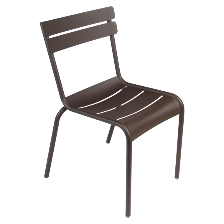 Fermob Luxembourg Stuhl Rost 09 Stuhl ohne Armlehnen