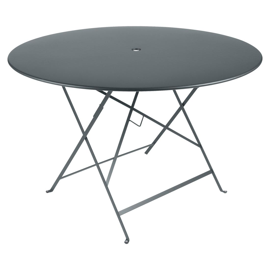 Fermob Tisch Bistro Rund Gewittergrau 26 ø 117 cm