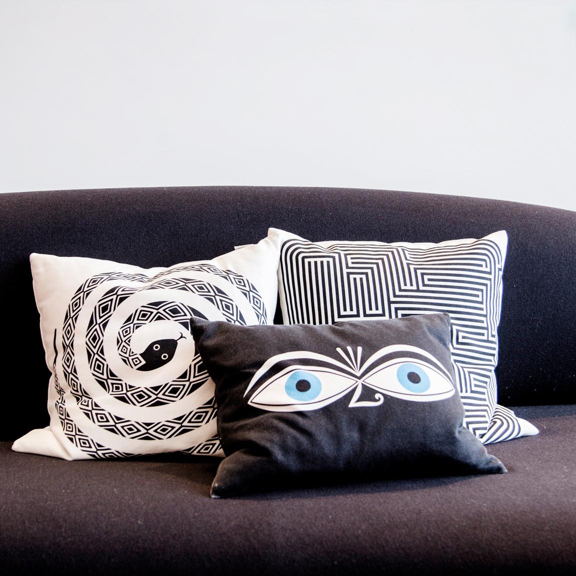 Kissen Eyes Vitra