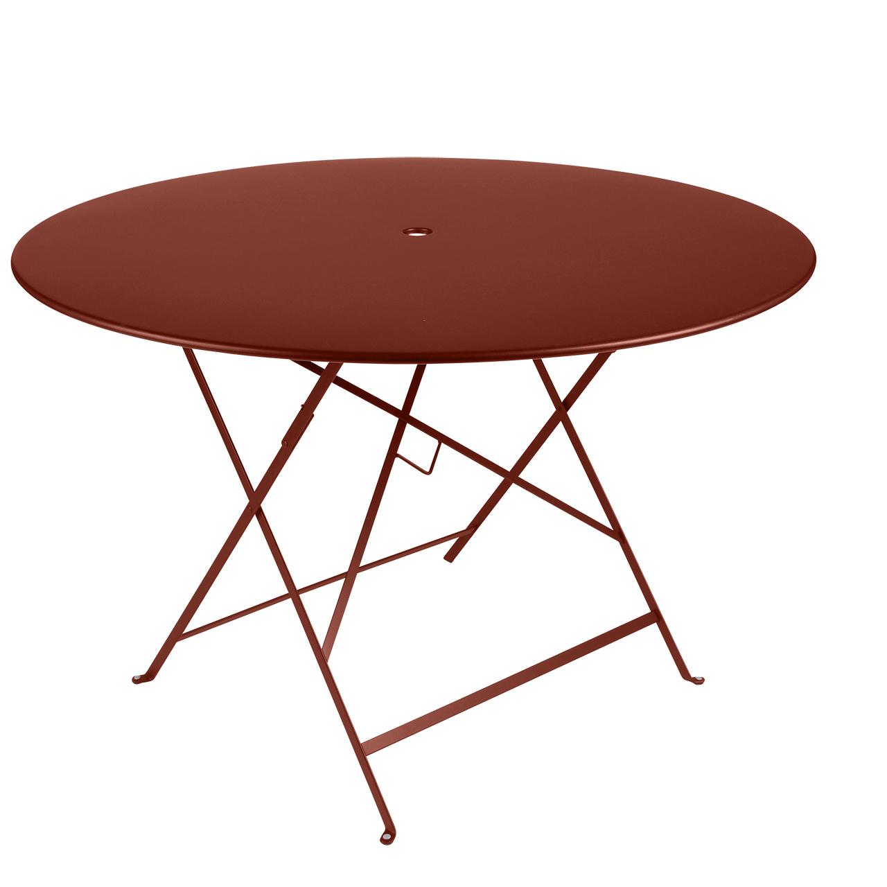 Fermob Tisch Bistro Rund  ø 117 cm ,  Ockerrot 20 NEU