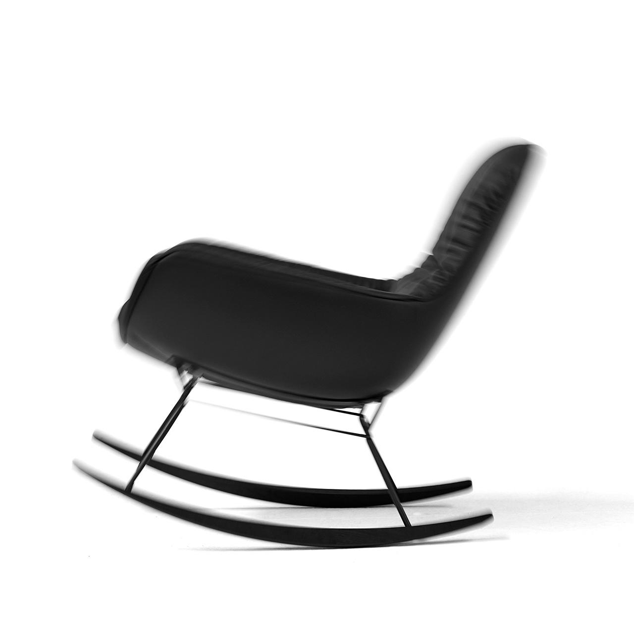 Indoor Lounge Schaukel-Ohrensessel Leyasol