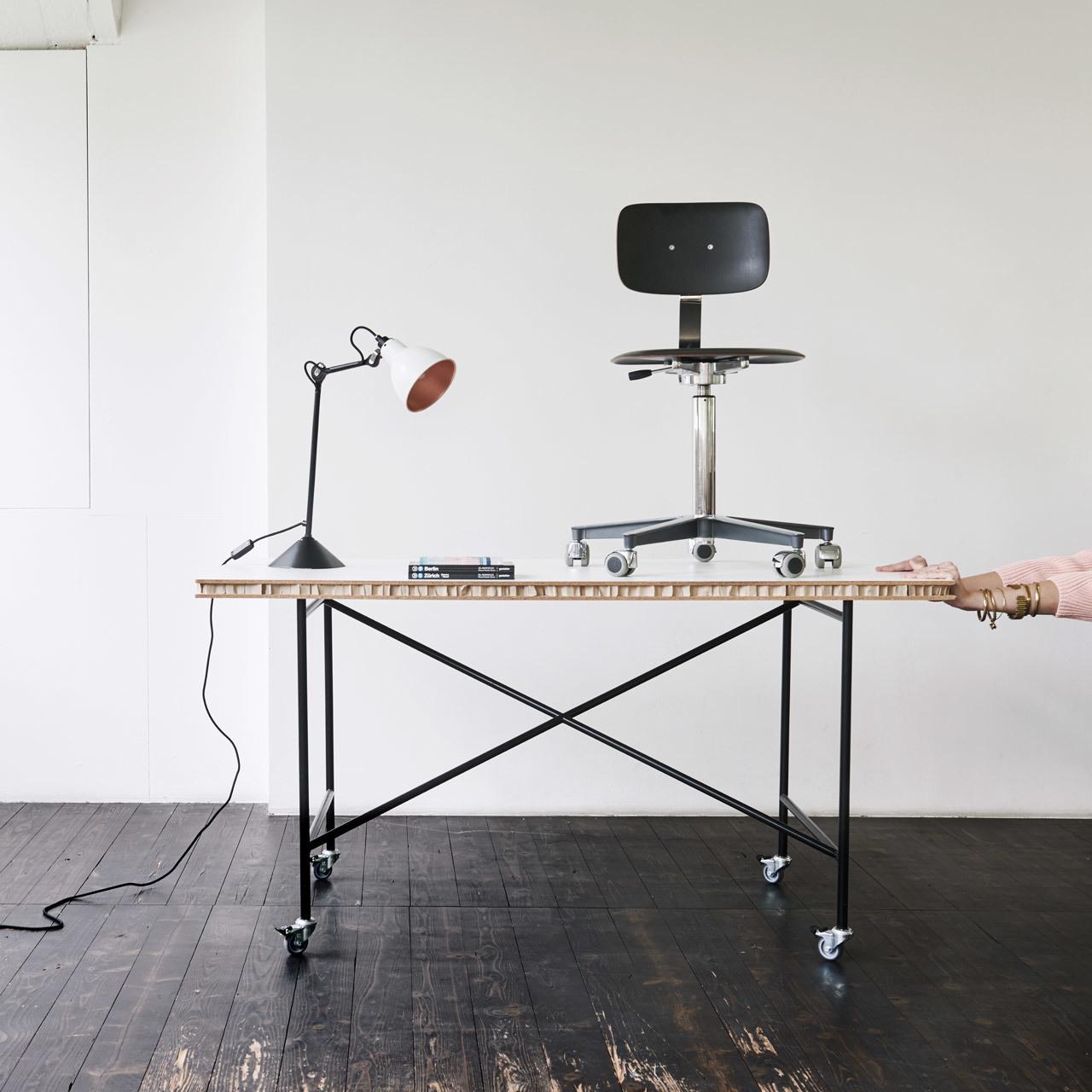 Tischgestell Egon Eiermann Gross Richard Lampert, Eiermann Tisch