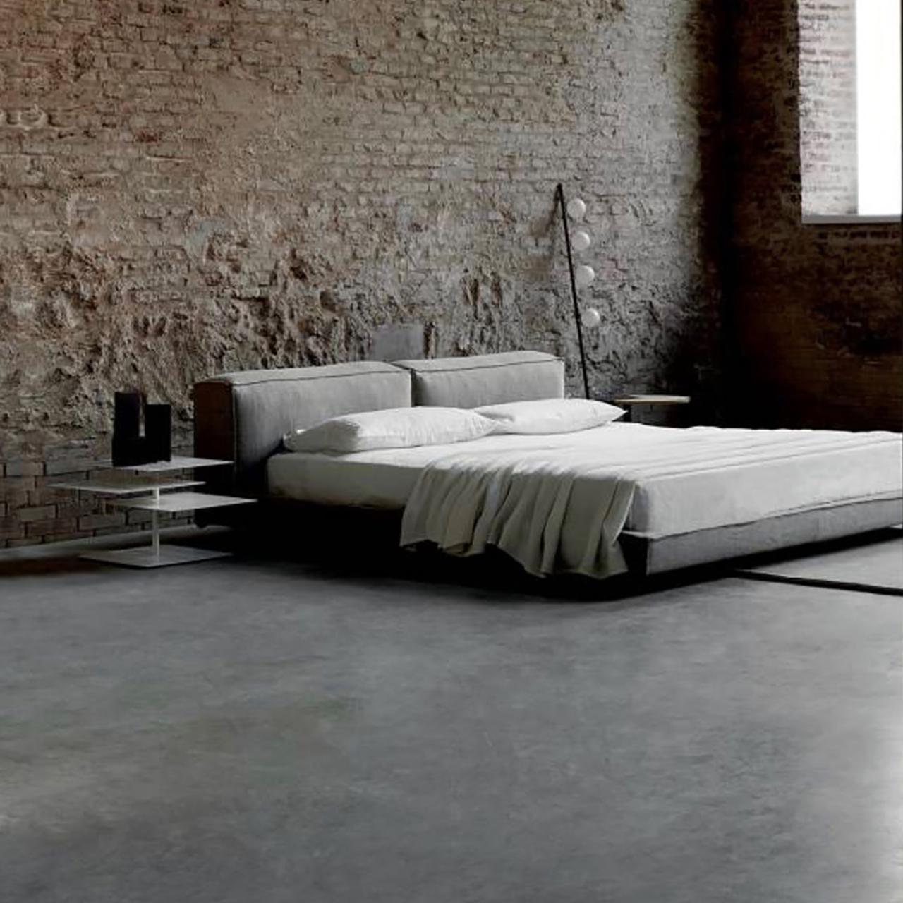 Stoffbezogenes Neowall Bed von Living Divani