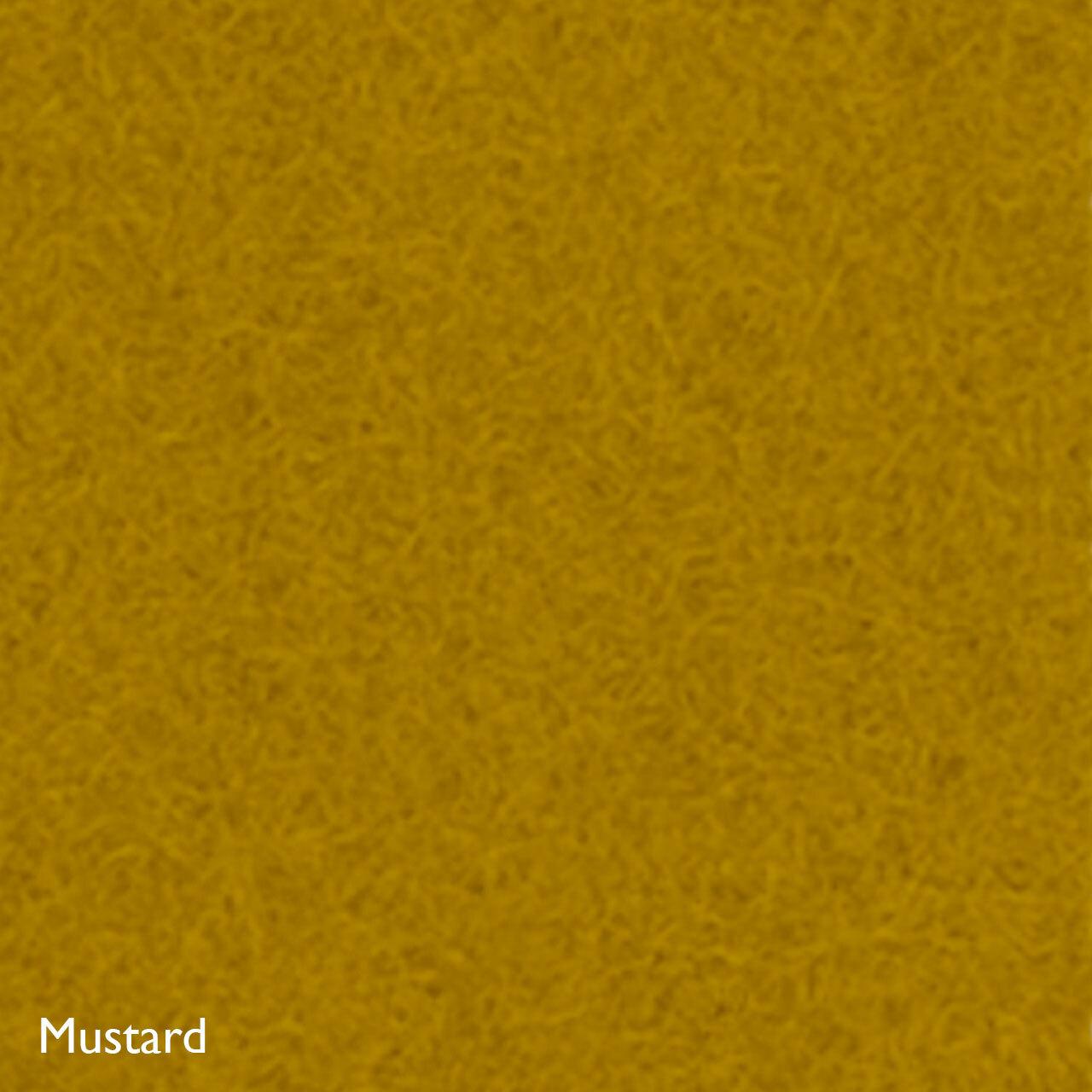 Hey-Sign Sitzmöbel 'Big Quart'  Mustard,  80 x 80 x 40 cm