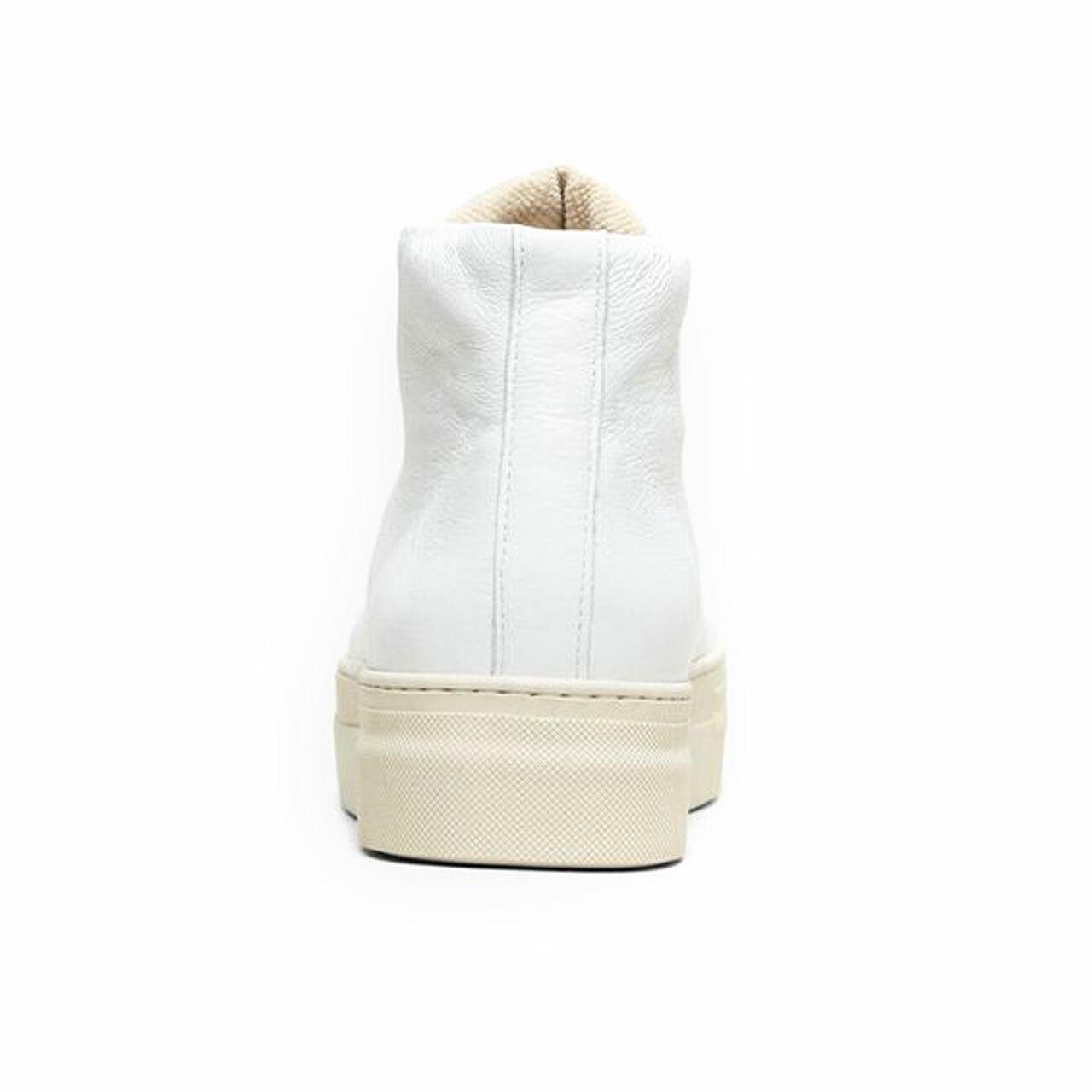 Schlichschöner Hitop-Sneaker aus Leder