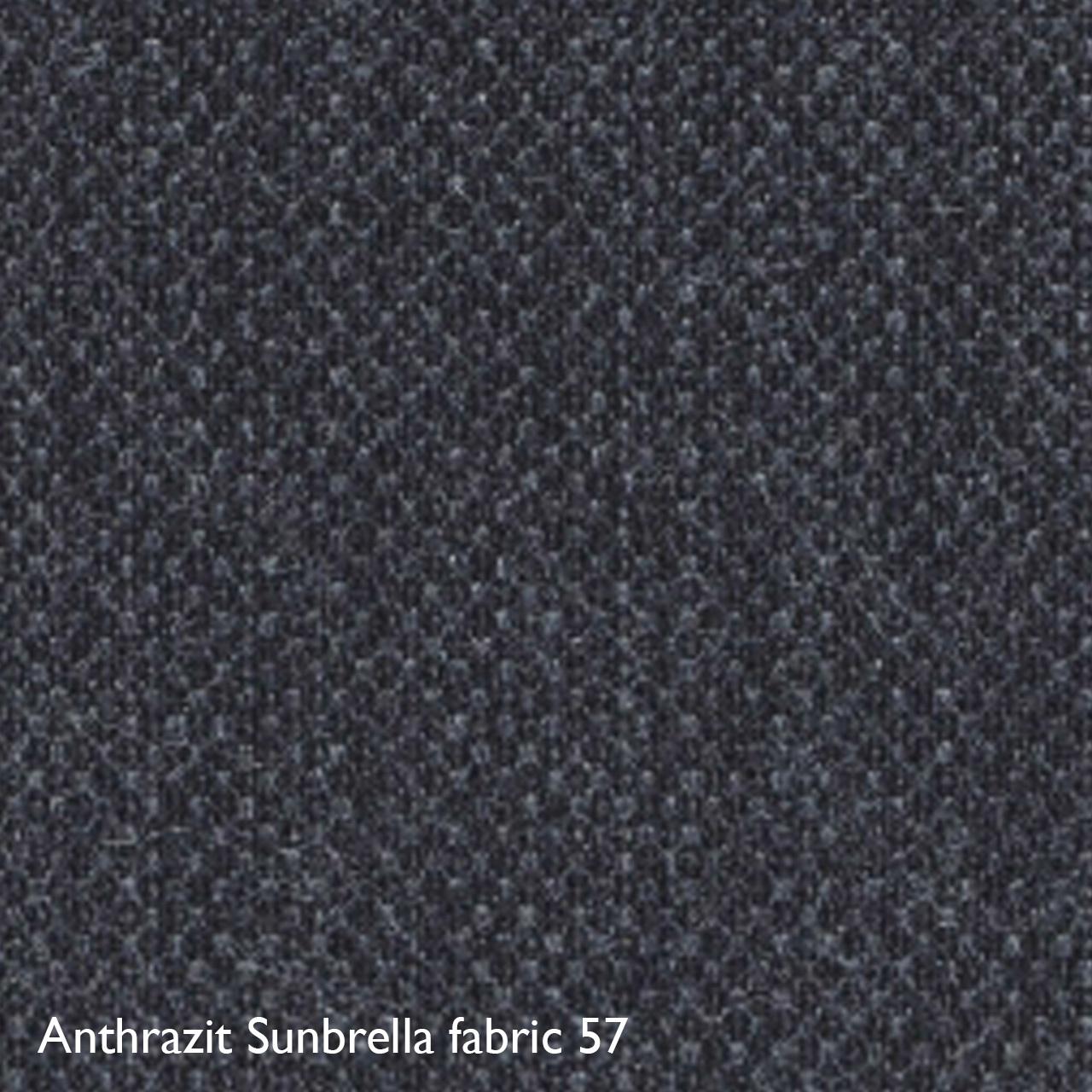 Houe Farbkachel Anthrazit Sunbrella 57